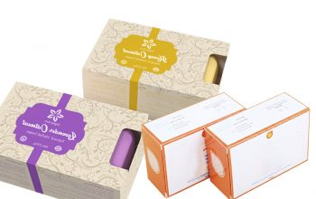 Appealing Soap Packaging Boxes for Featuring Myrrh Moisturizing Bar