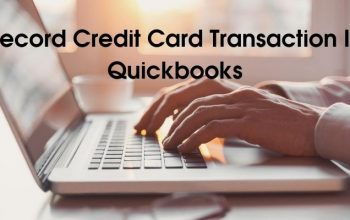 How To Record Credit Card Transaction In Quickbooks